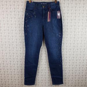Gloria Vanderbilt Curvy Fit Blue Jeans Pants Sz 10